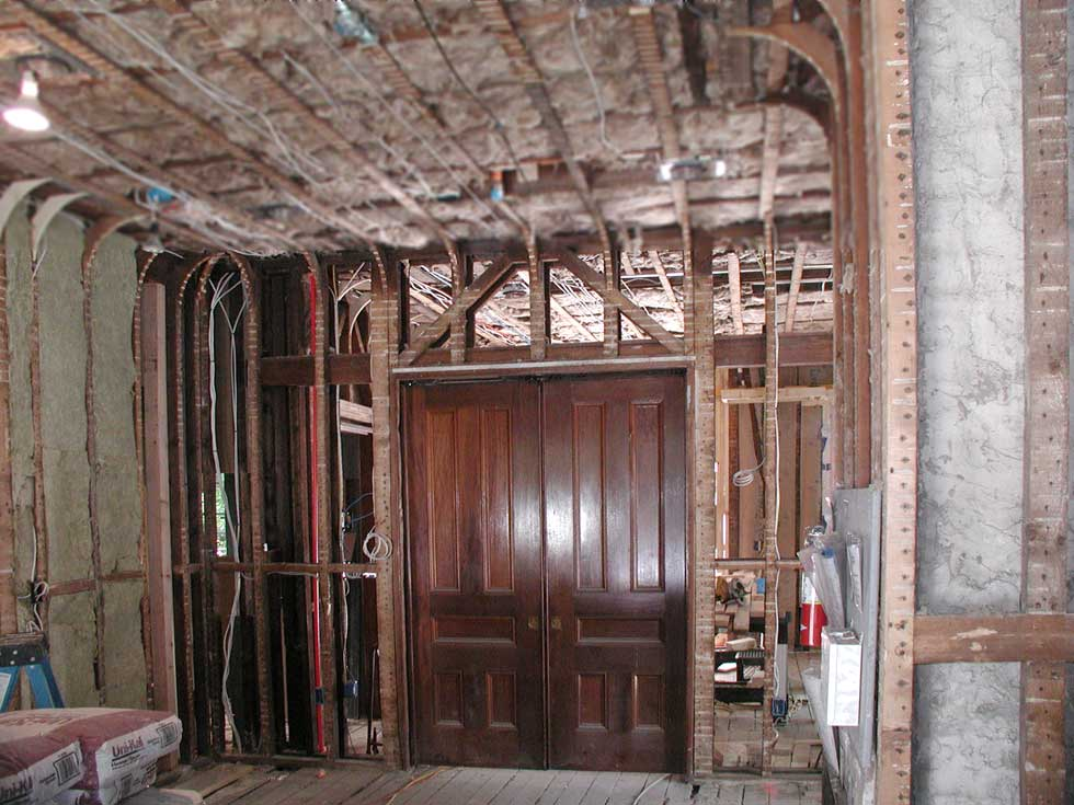 - Restoration Of Vintage Pocket Doors