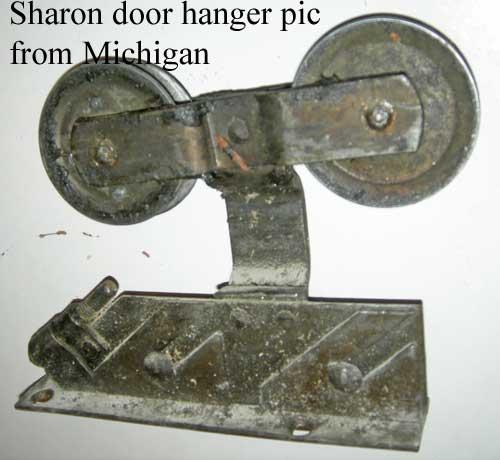 Sharon hanger off Ebay - Illustrated Field Guide To Pocket Door Mechanisms